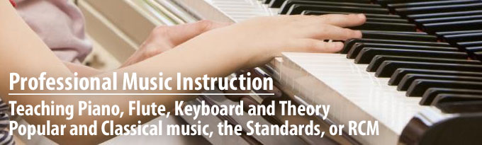 Professional Music Instruction